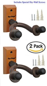 2-PACK Top Stage® Home & Studio Acoustic Electric Guitar Hanger