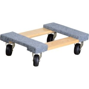 Ironton Carpeted Mover's Dolly
