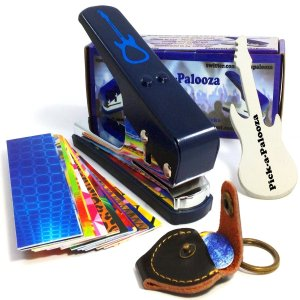 Pick-a-Palooza® DIY Guitar Pick Punch Mega Gift Pack