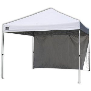 10'x10' Straight Leg Instant Canopy (100 sq. ft. coverage)with Removable wall panel