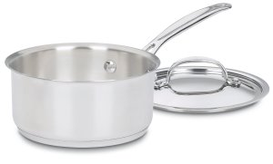 Cuisinart 719-16 Chef's Classic Stainless 1-12-Quart Saucepan with Cover