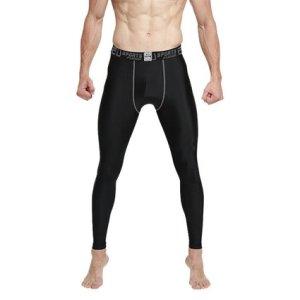 EU Men's Compression Tight Pants Base Layer Running Leggings