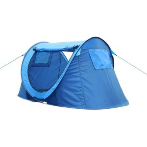Ezyotudoor 88''x48''x37' Instant Pop-Up Tent - Automatic Setup in Seconds - Easy Fold Up - Great Family Outdoor Camping Tents Shelters