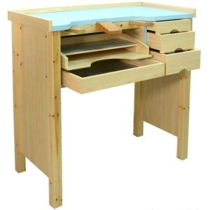 Jewelers Work Bench W Aluminum Work Pan
