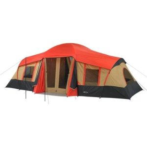 Ozark Trail Vacation Tent With 3-Room for 10-Person