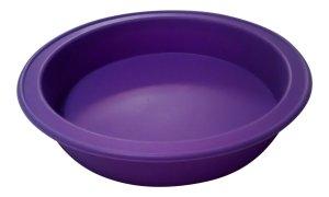 Round Cake Pan, 9-inch Diameter, 100% Food Grade Premium Nonstick Silicone