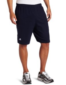 Russell Athletic Men's Cotton Performance Baseline Short