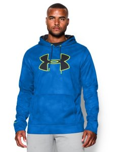 Under Armour Men's AF Big Logo Pattern Hoodie