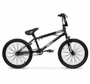 20 Hyper Spinner Pro Boys' BMX Bike, Black