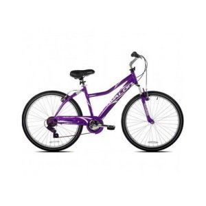 26 NEXT, Avalon, Comfort Bike, Full Suspension, Women's Bike, Purple