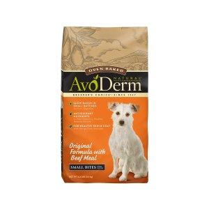 AvoDerm Natural Oven-Baked Original Small Bites Dry Dog Food