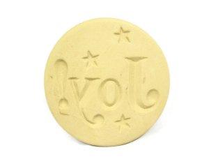 Brown Bag - JOY - Say It With Cookies Series Cookie Stamp - NEW