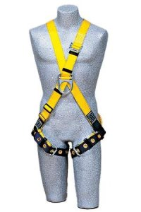 Capital Safety 1102952 Delta Cross-Over Style Climbing Harness, X-Large