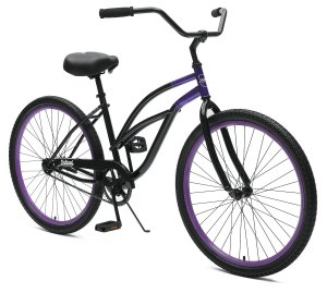 Critical Cycles Chatham-1 Women's Beach Cruiser 26 Single-Speed