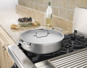 Cuisinart MCP55-30N MultiClad Pro Stainless 5-12-Quart Casserole with Cover
