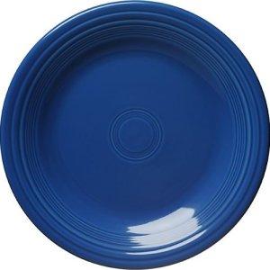 Fiesta Dinner Plate, 10-12-Inch, Lapis