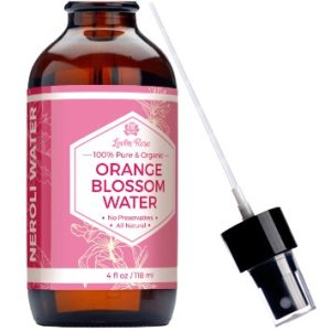 Leven Rose Orange Blossom Water Toner - 100% ORGANIC, Natural for Clear Skin, Restoring PH, and Breakouts - Neroli Water Toner