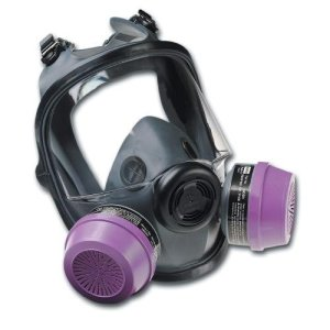 North by Honeywell 068-54001 Series 5400 Full Facepiece Respirator, MediumLarge