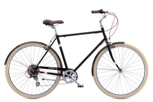 PUBLIC Bikes V7 Comfort City Bike, 18Small, Black