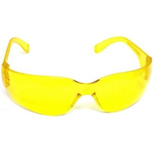 Safety Glasses Yellow Eye Protection Shooting Aviator