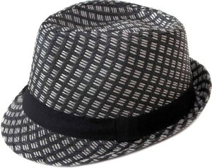 Simplicity® Men Women Summer Short Brim Straw Fedora