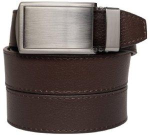 SlideBelts Men's Golf Leather Ratchet Belt - Custom Fit