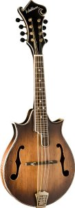 Washburn M117SWK Florentine Double Cut Mandolin, Vintage Finish