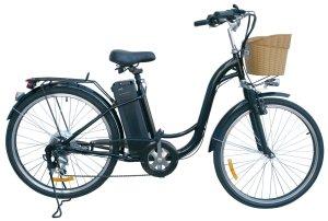 Watseka XP Cargo-Electric Bicycle-26-6 speed-AdultYoung Adult-Black