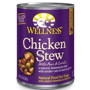 Wellness Thick & Chunky Stews Natural Wet Canned Dog Food