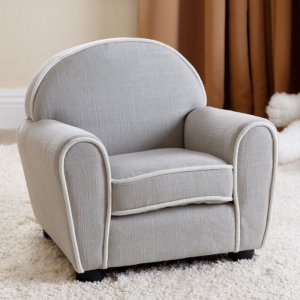 Abbyson Living Larsa Baby Fabric Kids Armchair -