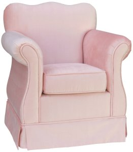 Angel Song Aspen Pink Empire Girl's Chair