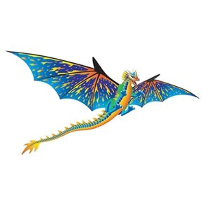 Brainstorm Dragon WindnSun 3-D Nylon Kite, 76
