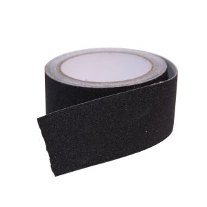 Camco 25401 Non-Slip Grip Tape for Steps (2 x 15', Black)