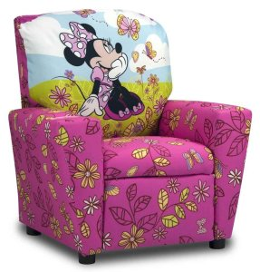 Disney Minnie Mouse Cuddly Cuties Kids Recliner