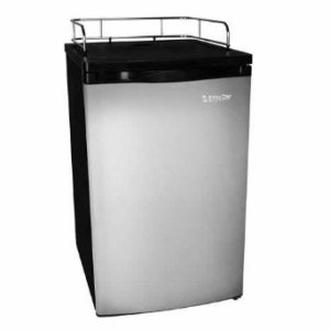 EdgeStar Ultra Low Temp Stainless Steel Refrigerator for Kegerator Conversion