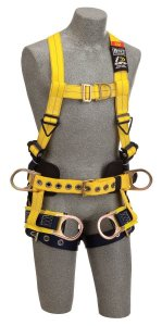 Fall Protection - Medium Delta Vest-Style Tower Climbing Harness - SAFETY-DB-1107777