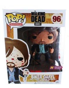 Funko Pop! The Walking Dead Bloody Version Biker Daryl Vinyl Figure