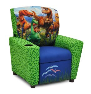 Good Dinosaur Disney Childrens Recliner with Cup Holder
