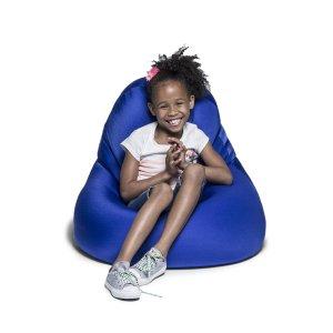 Jaxx Nimbus Spandex Bean Bag Chair for Kids, Royal Blue
