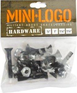 Mini-Logo Skateboard Hardware 1 inch
