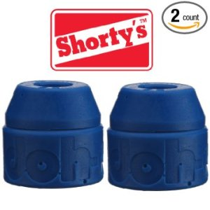 Shorty's Blue Doh-Doh Bushings 88a soft (2 sets) For Skateboards & Longboards