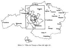Villas de Vizcaya a fines del siglo XIV