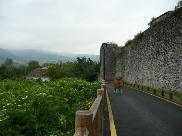 En torno a la muralla