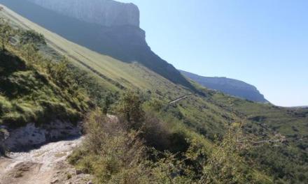Pasos y portillos en la Sierra Salbada