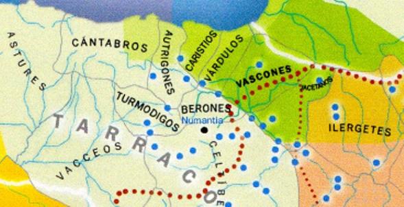 La naturaleza de los autrigones en relación con la de los cántabros y de los demás pueblos vascos