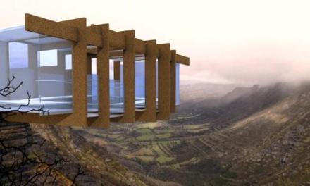 Un mirador suspendido en el vacío permitirá disfrutar del salto del Nervión