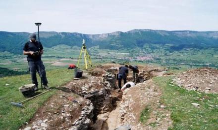 «Estamos ante la trinchera de la Guerra Civil mejor conservada de Euskadi»