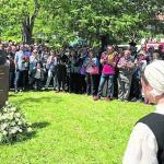 Orduña recuerda con un busto de bronce a Fandiño, su vecino más universal