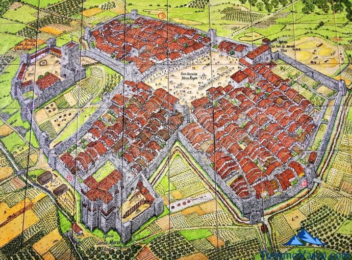 La muralla de Orduña ganará esplendor junto a la parroquia