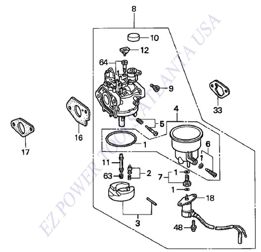 onan 5500 generator carburetor parts diagrams